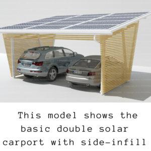 Wilton entrepreneur creates Australia's first home solar carport -double solar carport