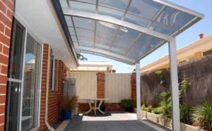 Carport can be many other things including a bus shelter or a Gym!