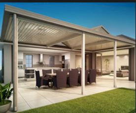 Carport can be many other things including a bus shelter or a Gym! - outdoor entertainmnet area
